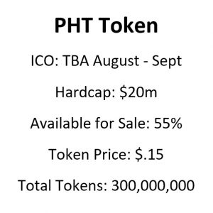 PHT LightStreams Token Metrics ICO Whitelists