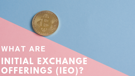 what are initial exchange offerings?