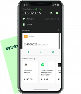Screenshot of Wirexapp and Wirex Visa